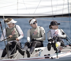 Anna Tunnicliffe, Molly Vandemoer y Debbie Capozzi (USA) - Match Race